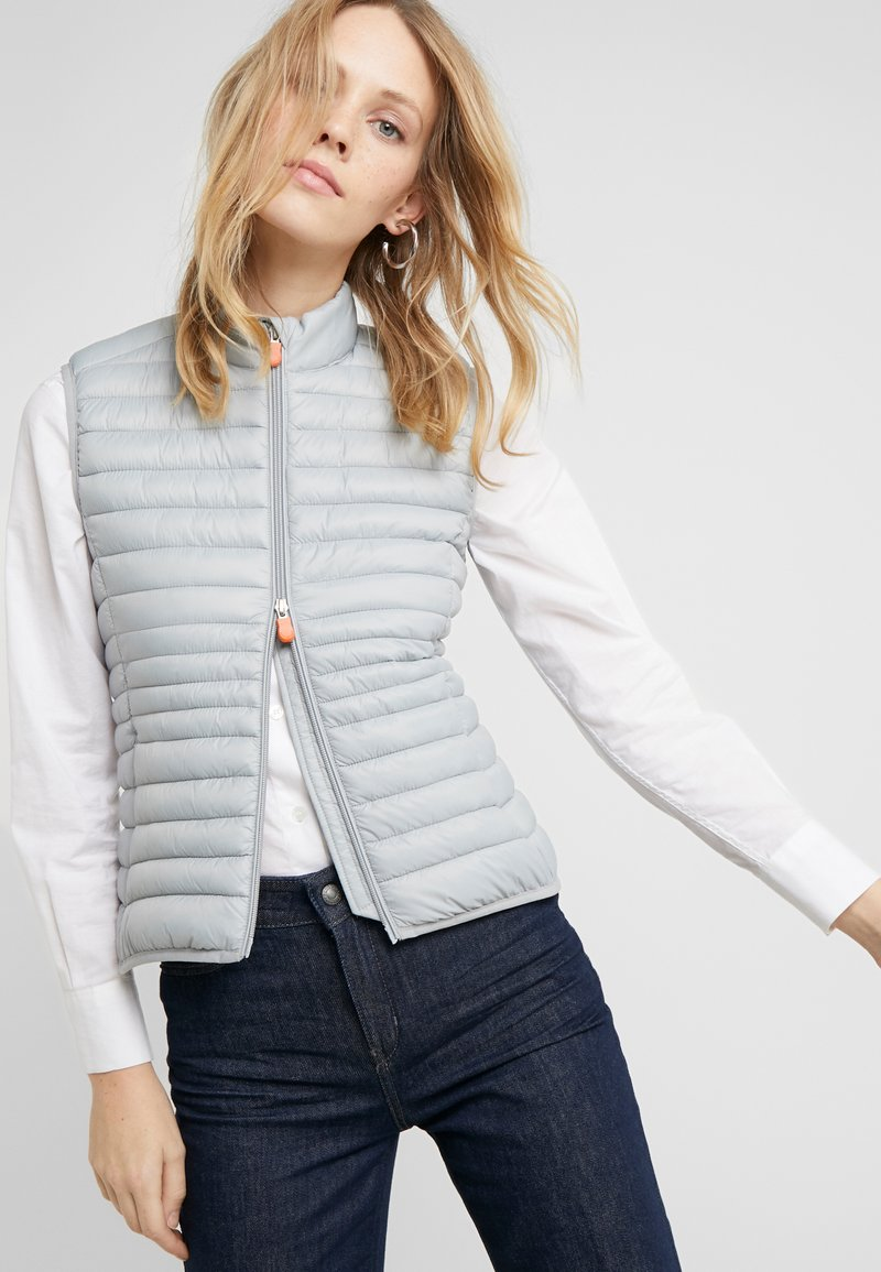 Save the duck GIGAX - Vest - opal grey