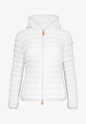 GIGAX - Winter jacket - coconut white