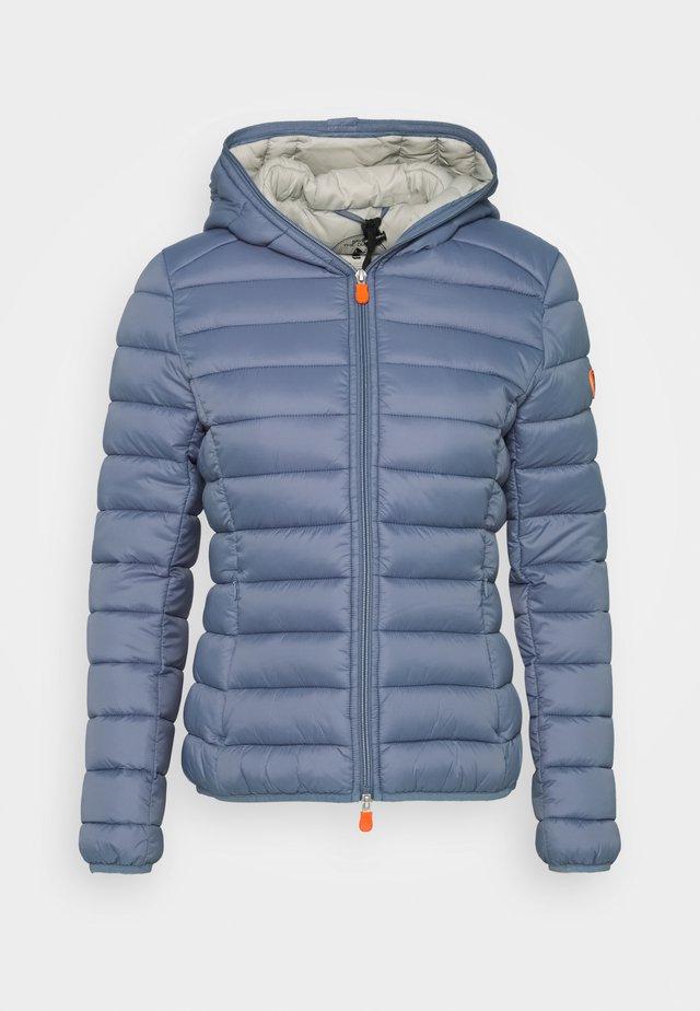 GIGAY - Winter jacket - steel blue