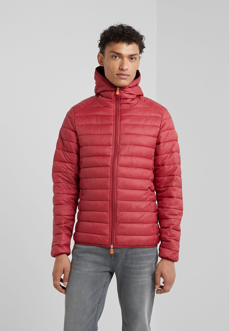 Save the duck - GIGA - Winter jacket - mineral red
