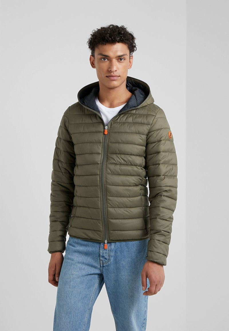 Save the duck - GIGA - Winter jacket - dusty olive