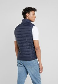 Save the duck - GIGA - Waistcoat - blue black - 2