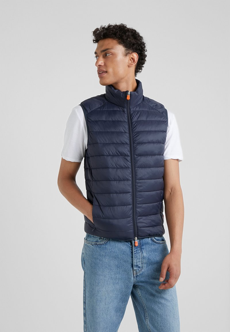 Save the duck - GIGA - Waistcoat - blue black