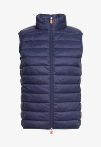 Save the duck - GIGA - Waistcoat - blue black - 3