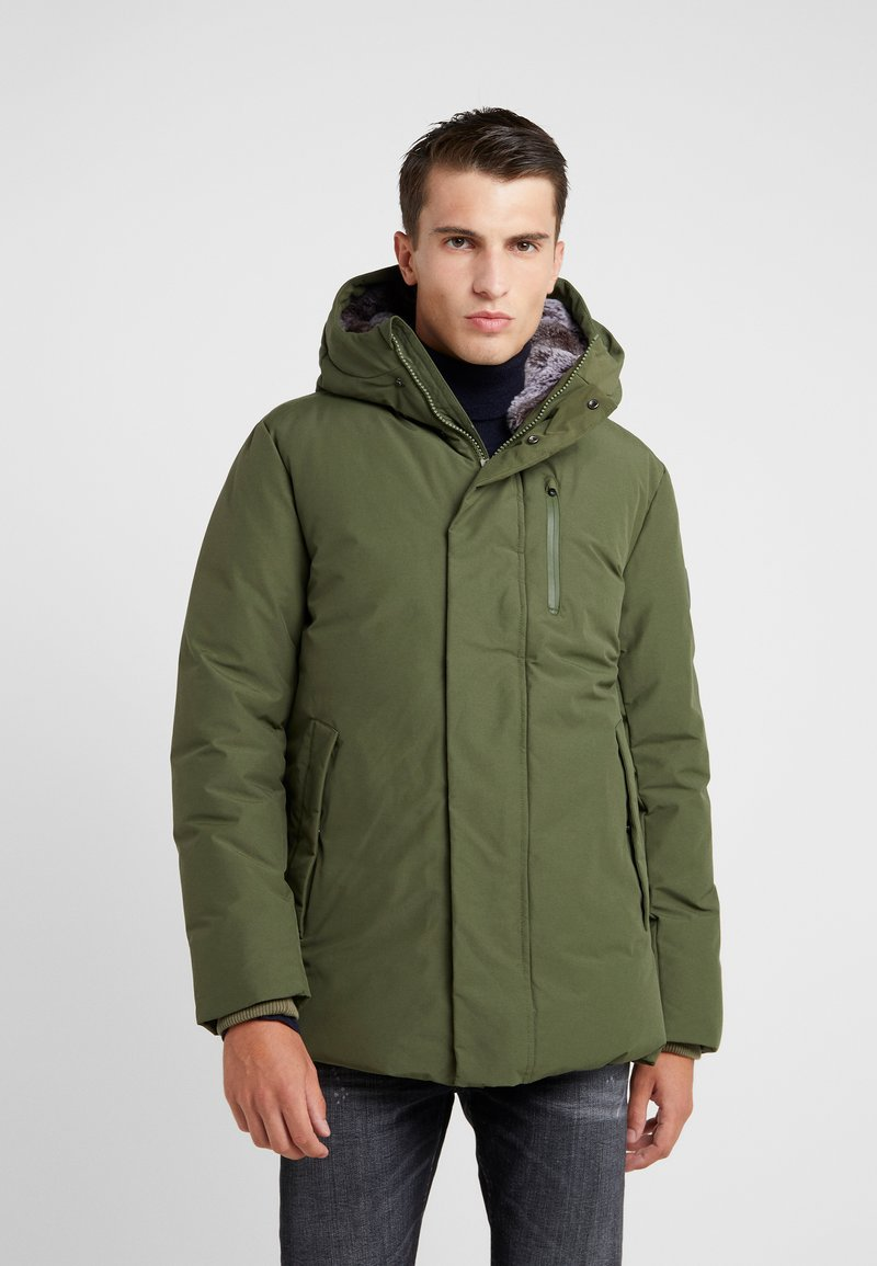 Save the duck - COPY - Winter jacket - dusty olive