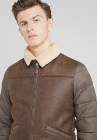Save the duck - TONY - Light jacket - chocolate brown - 4