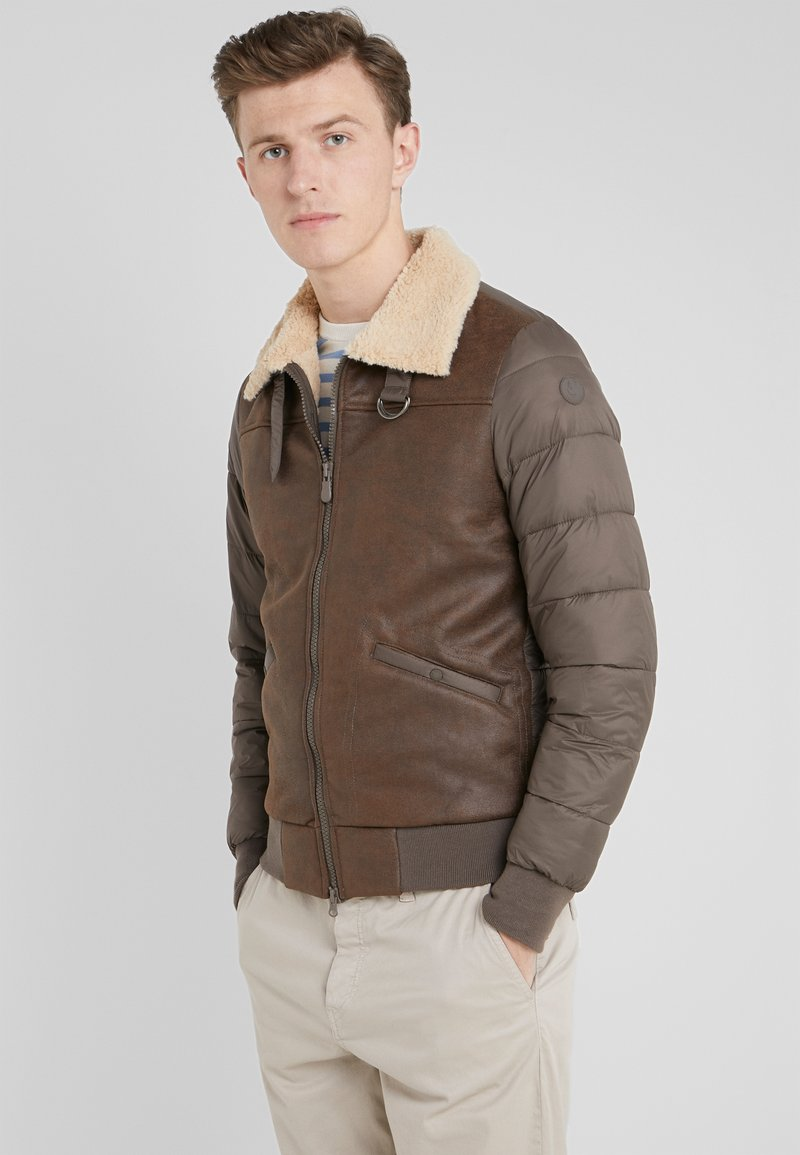Save the duck - TONY - Light jacket - chocolate brown