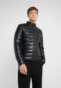 Save the duck - SKIN - Faux leather jacket - black - 0
