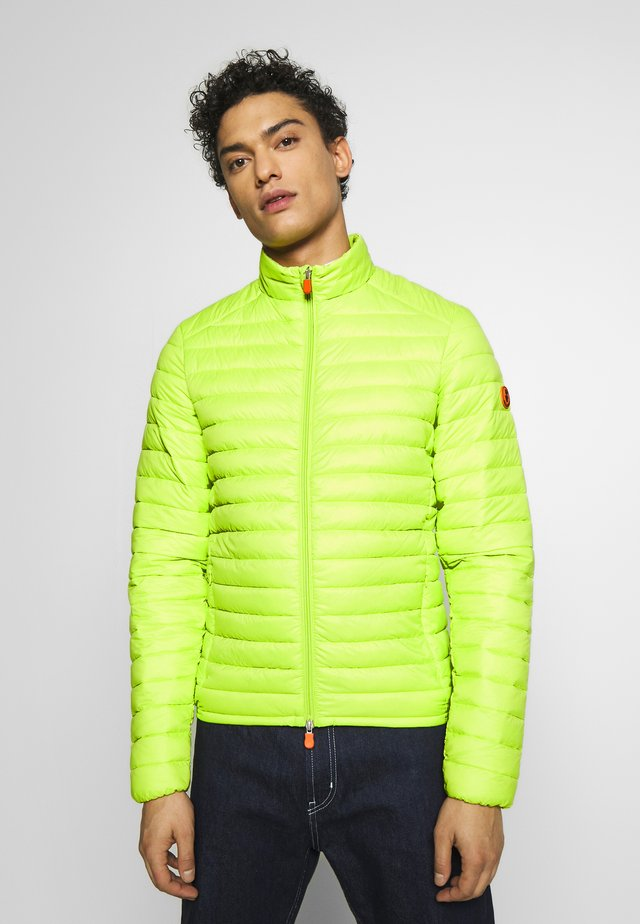 GIGAX - Light jacket - lime green