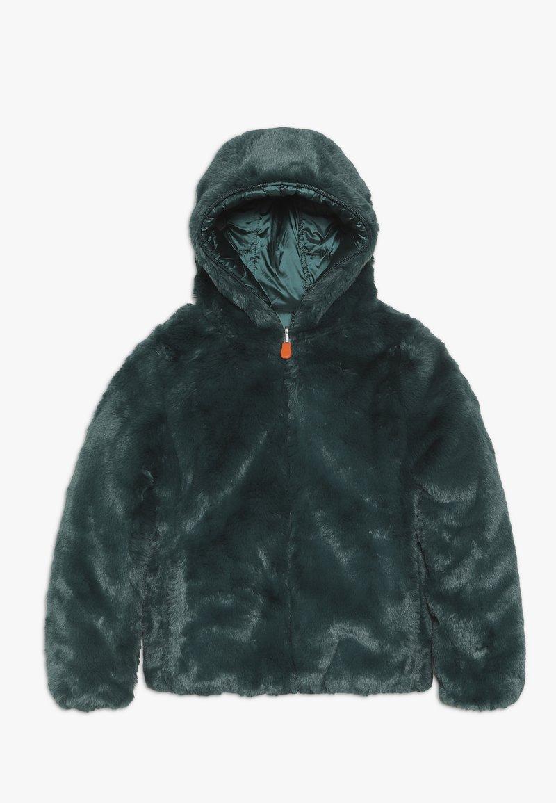 Save the duck - FURY WENDEJACKE - Winter jacket - alpine green