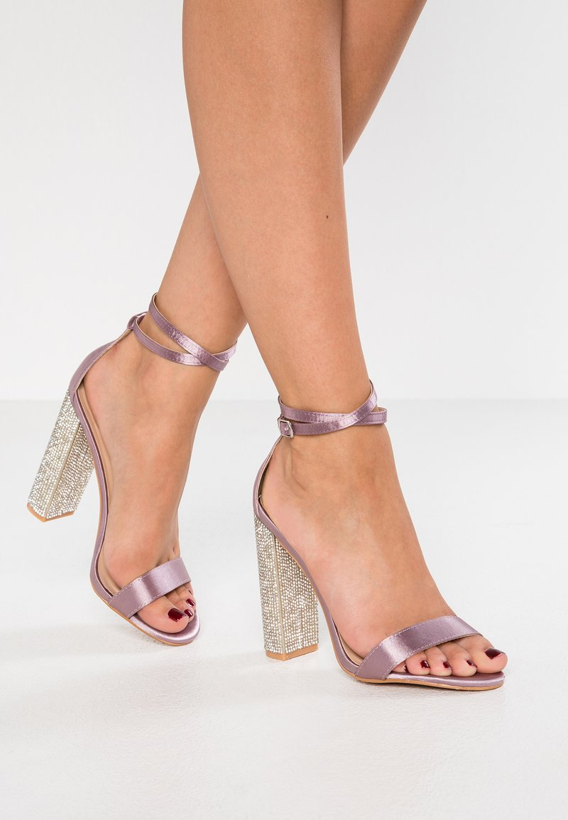 TD by True Decadence - High Heel Sandalette - pink