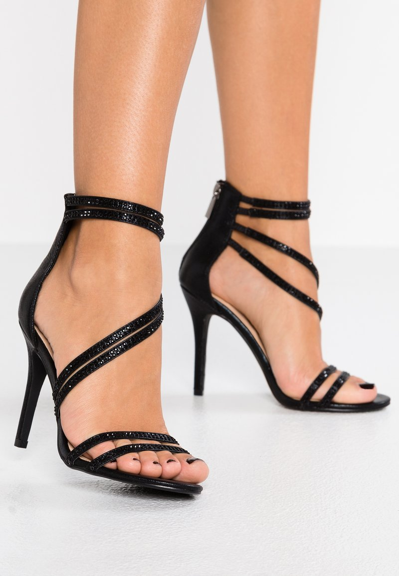 TD by True Decadence - Sandaler med høye hæler - black