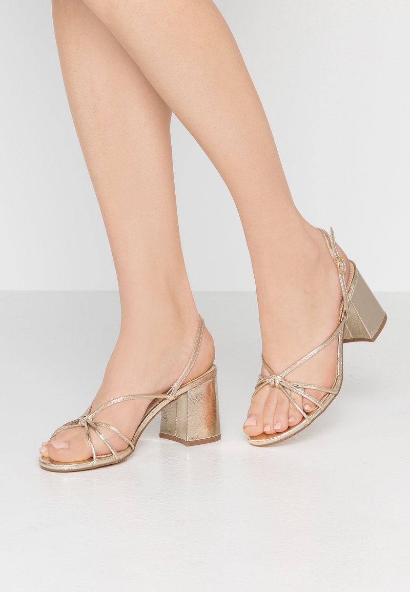 TD by True Decadence - Sandals - gold