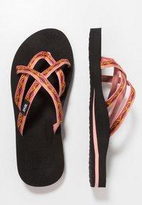 Teva - OLOWAHU - Sandály s odděleným palcem - sari ribbon apricot - 1