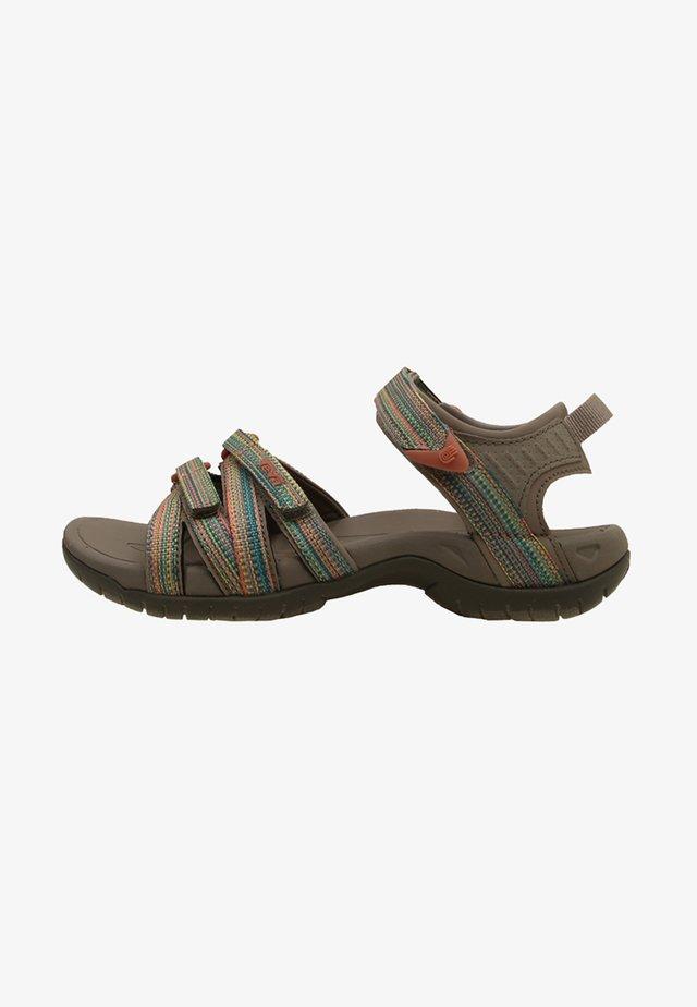 TIRRA - Chodecké sandály - taupe/multi