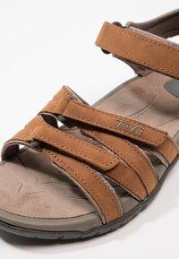 Teva - TIRRA - Walking sandals - rust - 2