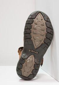 Teva - TIRRA - Walking sandals - rust - 5