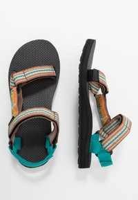 Teva - ORIGINAL UNIVERSAL WOMENS - Outdoorsandalen - cactus/sunflower - 1
