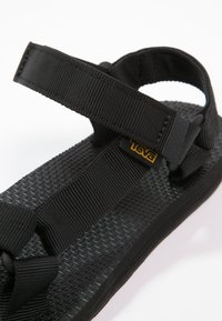 Teva - ORIGINAL UNIVERSAL WOMENS - Walking sandals - black - 5