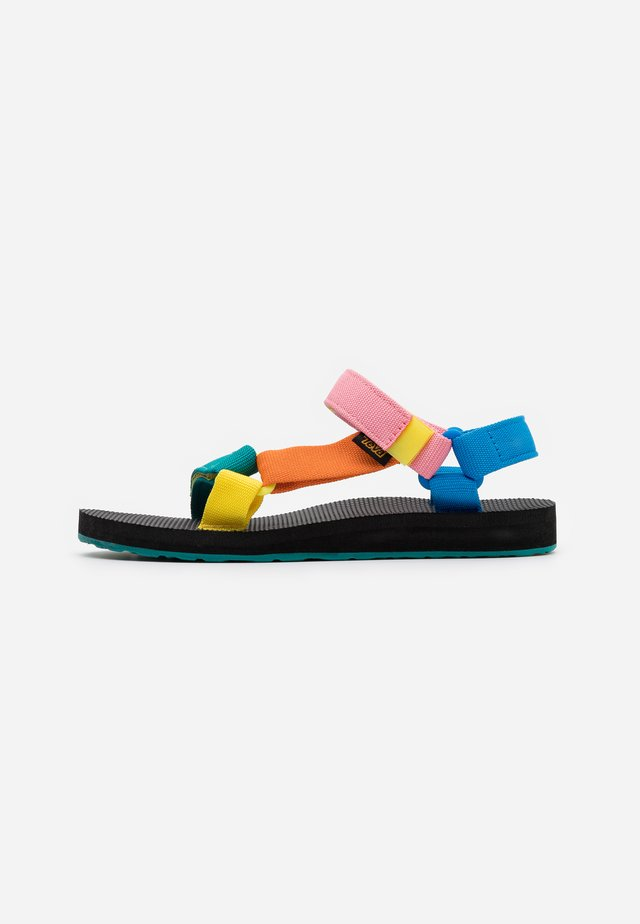 ORIGINAL UNIVERSAL WOMENS - Walking sandals - multicolor
