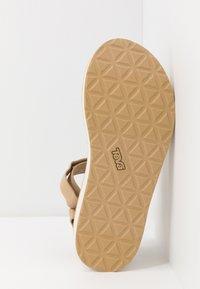 Teva - FLATFORM UNIVERSAL WOMENS - Walking sandals - lark - 4