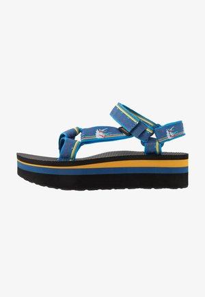 FLATFORM UNIVERSAL WOMENS - Walking sandals - dark blue