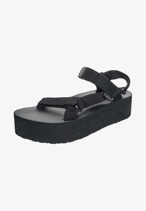 FLATFORM UNIVERSAL WOMENS - Walking sandals - black