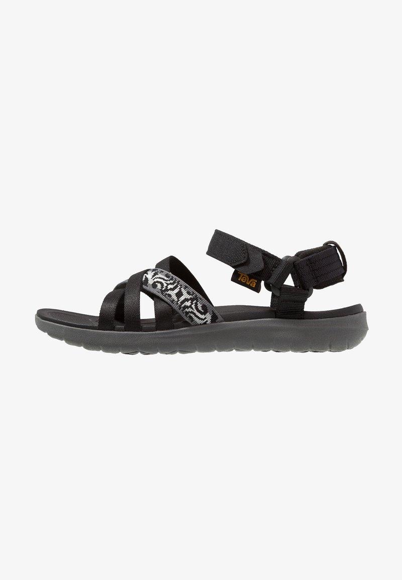 Teva - SANBORN - Sandalias de senderismo - thena gray/black
