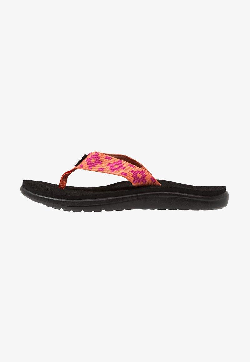Teva - VOYA - Flip Flops - maya check flamingo
