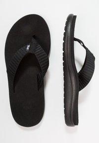 Teva - VOYA - Sandalias de dedo - bar street black - 1