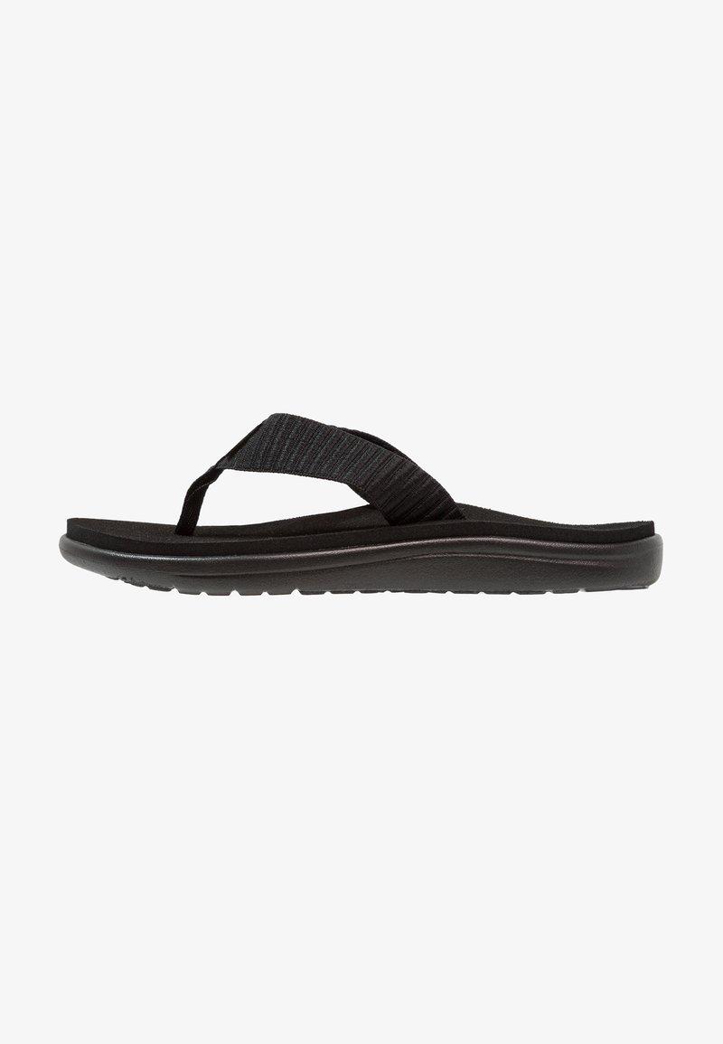 Teva - VOYA - Sandály s odděleným palcem - bar street black