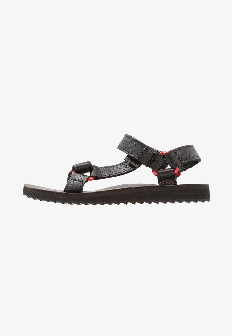 Teva - ORIGINAL UNIVERSAL MOTO - Walking sandals - black