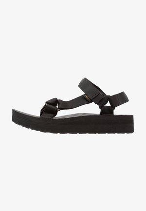 MIDFORM UNIVERSAL - Sandales de randonnée - black