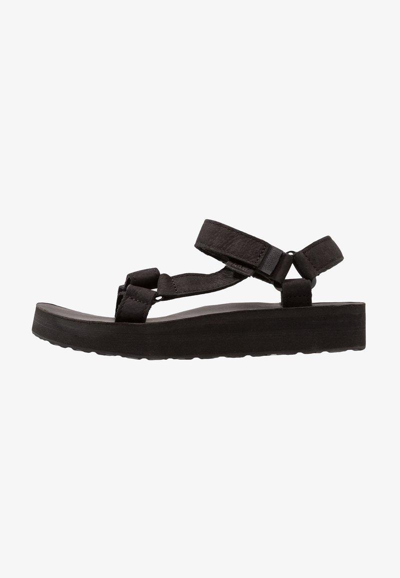 Teva - MIDFORM UNIVERSAL - Walking sandals - black