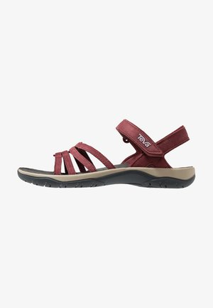 ELZADA LEA - Walking sandals - port