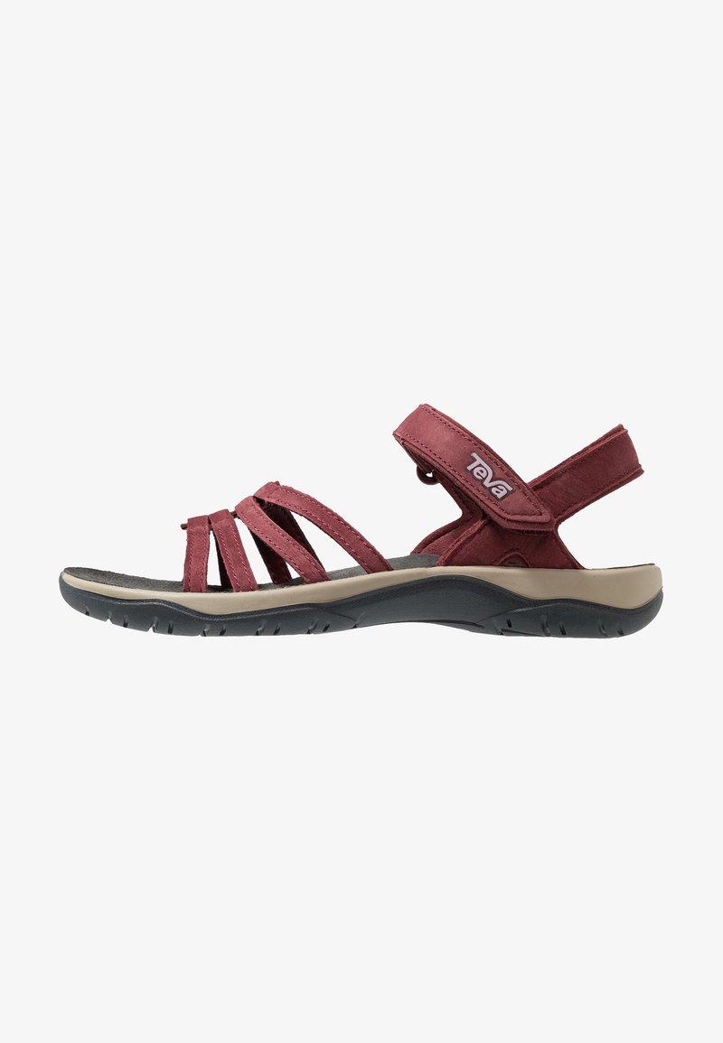 Teva - ELZADA LEA - Walking sandals - port
