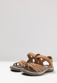 Teva - ELZADA LEA - Walking sandals - pecan - 2