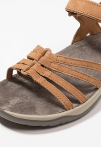Teva - ELZADA LEA - Walking sandals - pecan - 5