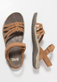 Teva - ELZADA LEA - Walking sandals - pecan - 1