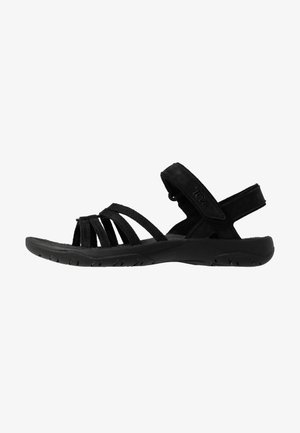 ELZADA LEA - Outdoorsandalen - black