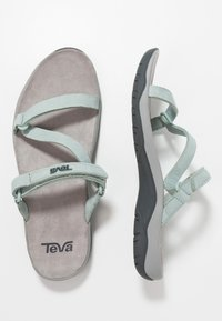 Teva - ELZADA SLIDE - Trekkingsandaler - gray mist - 1