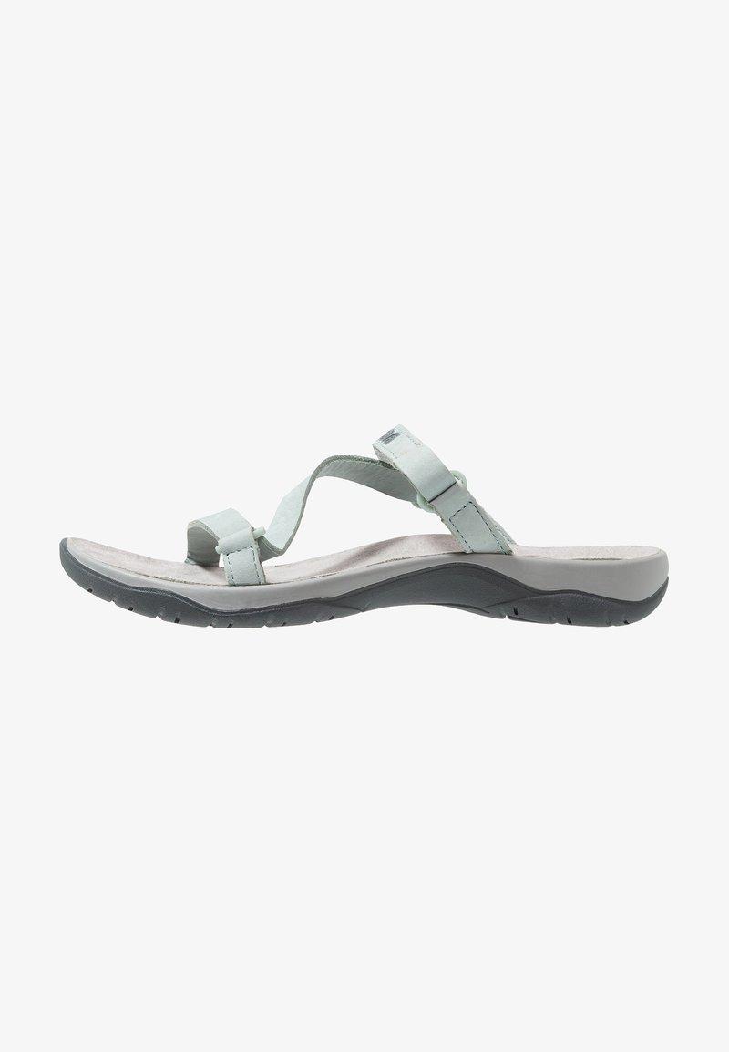 Teva - ELZADA SLIDE - Walking sandals - gray mist