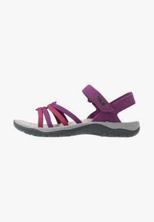 ELZADA - Walking sandals - gloxinia/red plum