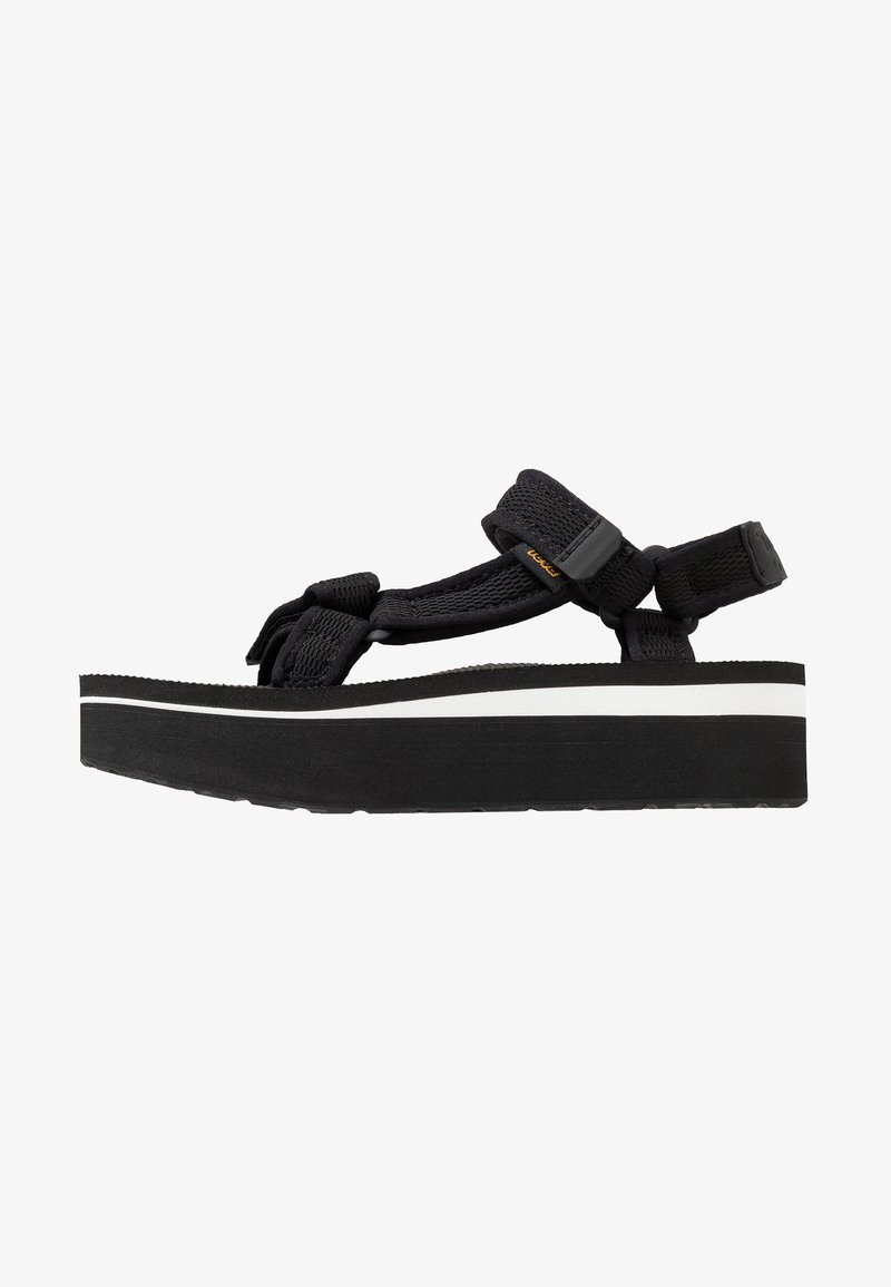 Teva - FLATFORM PRINT - Walking sandals - black