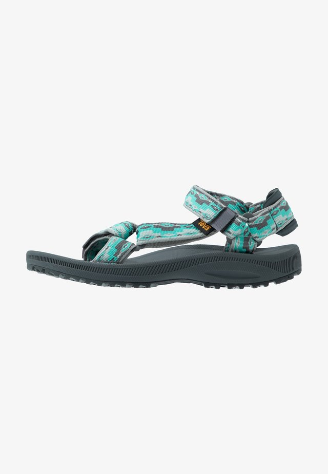 WINSTED WOMENS - Walking sandals - monds waterfall