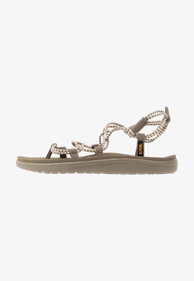 Teva - VOYA INFINITY STRIPE - Walking sandals - birch/brindle