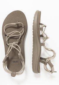 Teva - VOYA INFINITY STRIPE - Walking sandals - birch/brindle - 1