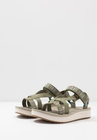 Teva - MIDFORM ARIVACA WOMENS - Walking sandals - burnt olive - 2