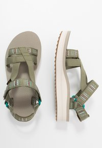 Teva - MIDFORM ARIVACA WOMENS - Walking sandals - burnt olive - 1