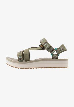 MIDFORM ARIVACA WOMENS - Walking sandals - burnt olive